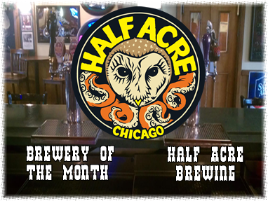 Half Acre brewery of the month jts